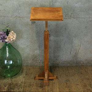 vintage_oak_church_school_lecturn_reading_music_menu_stand