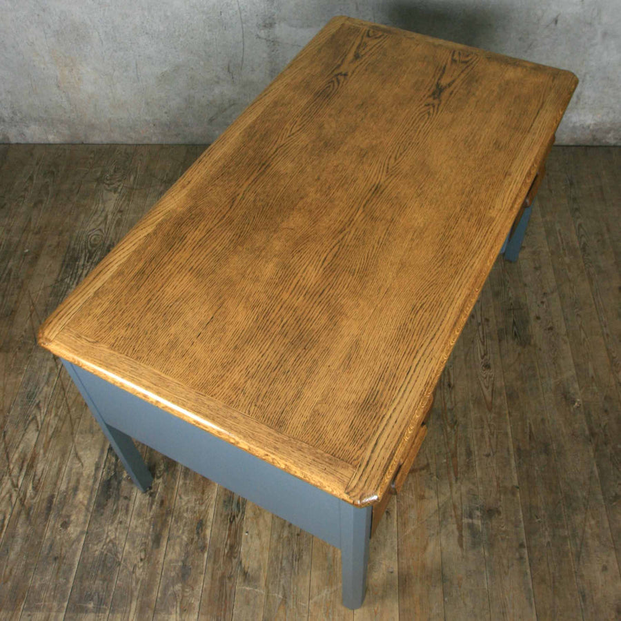 vintage_oak_farrow_&_ball_abbess_school_teacher_desk.10