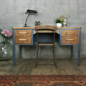 vintage_oak_farrow_&_ball_abbess_school_teacher_desk.4