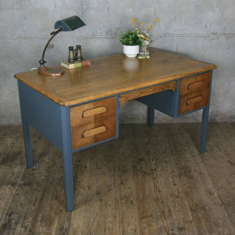 vintage_oak_farrow_&_ball_abbess_school_teacher_desk.5