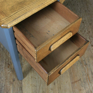 vintage_oak_farrow_&_ball_abbess_school_teacher_desk.7