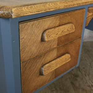 vintage_oak_farrow_&_ball_abbess_school_teacher_desk.8