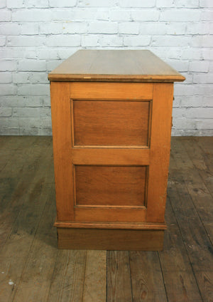 Vintage 1930s Oak Library Index Cabinet/Wine Storage