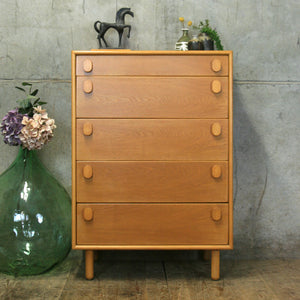 vintage_oak_meredew_mid_century_chest_of_drawers_tallboy