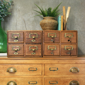 vintage_oak_rustic_index_filing_drawers_cabinets