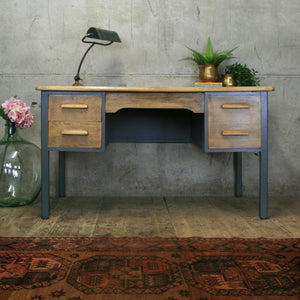 vintage_oak_rustic_painted_abbess_teachers_desk