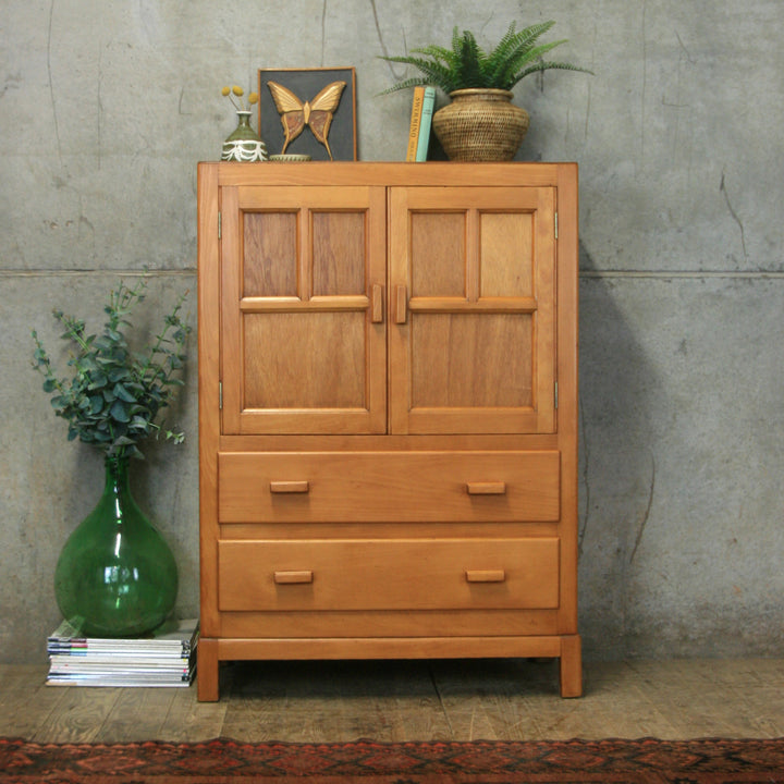 vintage_oak_rustic_utility_housekeepers_cupboard