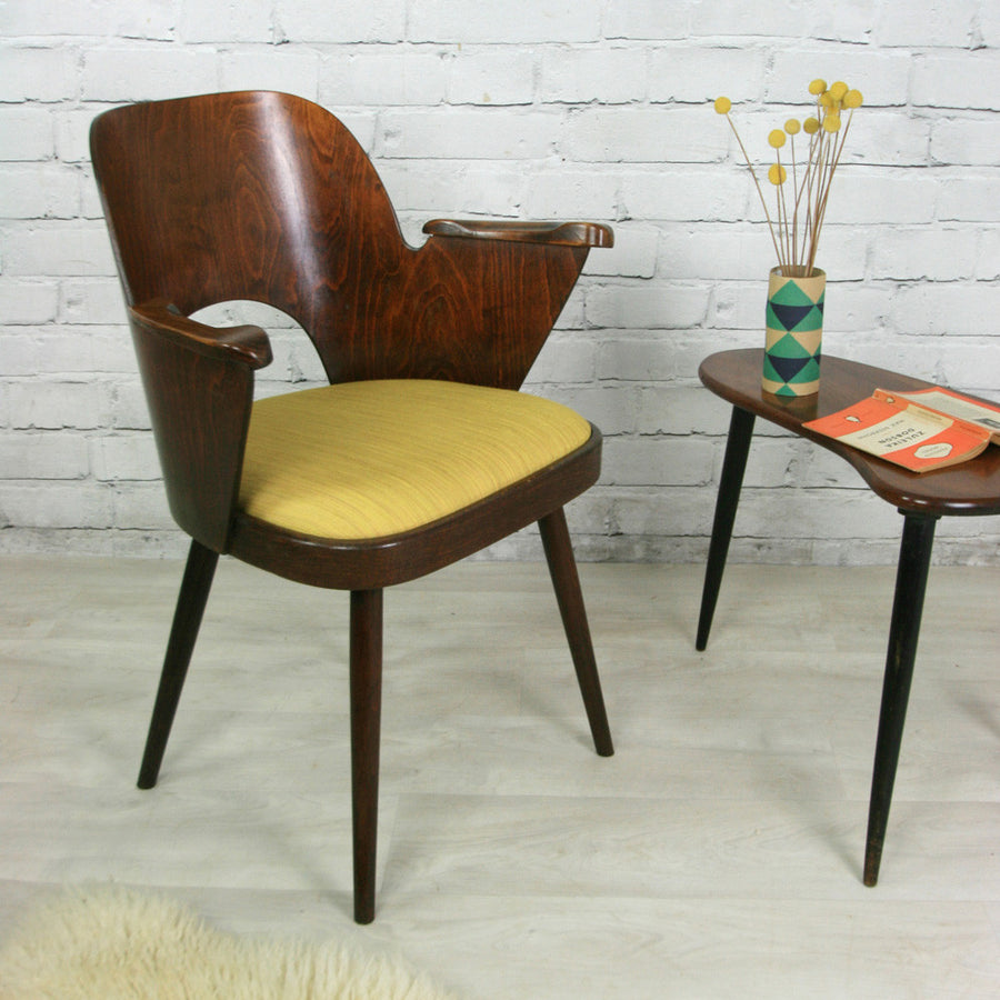 A Pair of Vintage 1950's Carver Chairs by Oswald Haerdtl