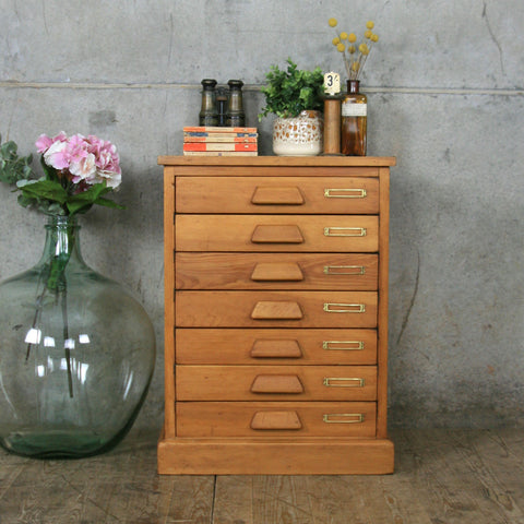 Vintage Pine Chest of Drawers