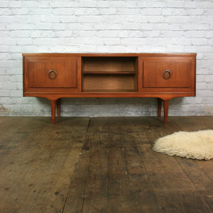 Teak Mid Century Sideboard TV Media Cabinet