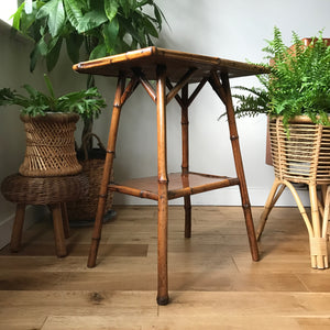 vintage_rustic_boho_bamboo_cane_side_lamp_table