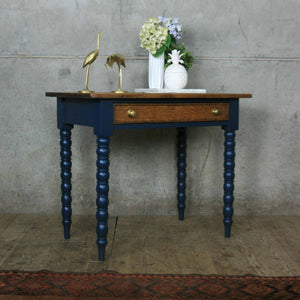 vintage_rustic_console_table_f&b_farrow_&_ball