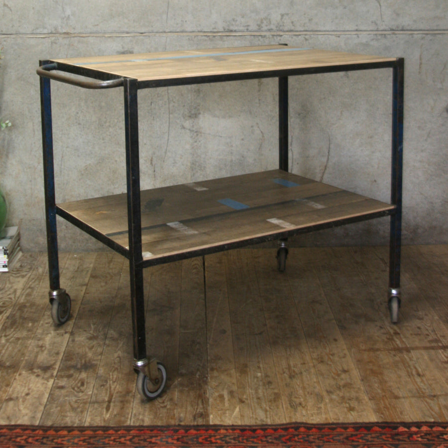 vintage_rustic_industrial_school_junckers_bar-cart_trolley