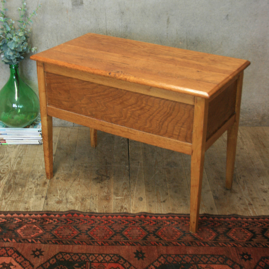 Vintage Oak Childs Desk - 0707a