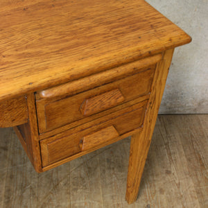 vintage_rustic_oak_childs_desk