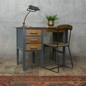 vintage_rustic_oak_f&b_painted_school_desk