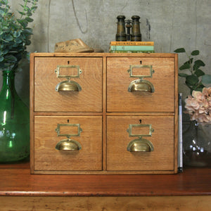 vintage_rustic_oak_index_drawers