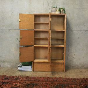 vintage_rustic_oak_school_lockers