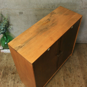 Vintage School Storage Cupboard - 2606a