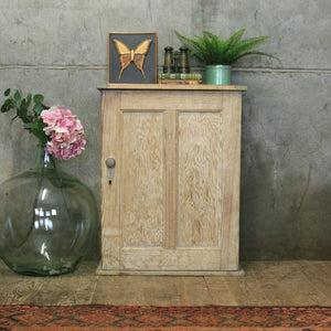 vintage_rustic_stripped_pine_cabinet