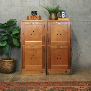 vintage_rustic_wooden_school_lockers