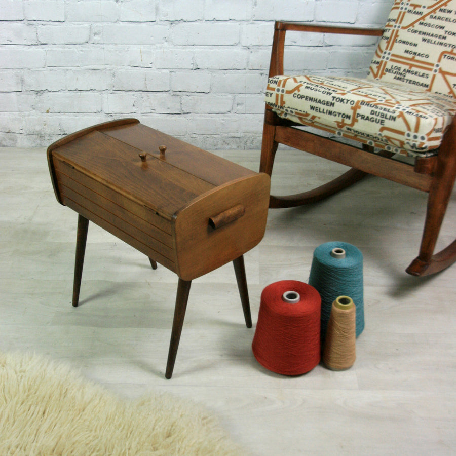 Vintage 1950s Sewing Table