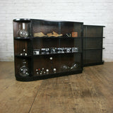 Vintage Glazed Storage / Shop / Retail / Display Cabinet #2