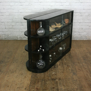 Vintage Glazed Storage / Shop / Retail / Display Cabinet #1