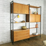 Vintage Ladderax Modular Shelving Unit