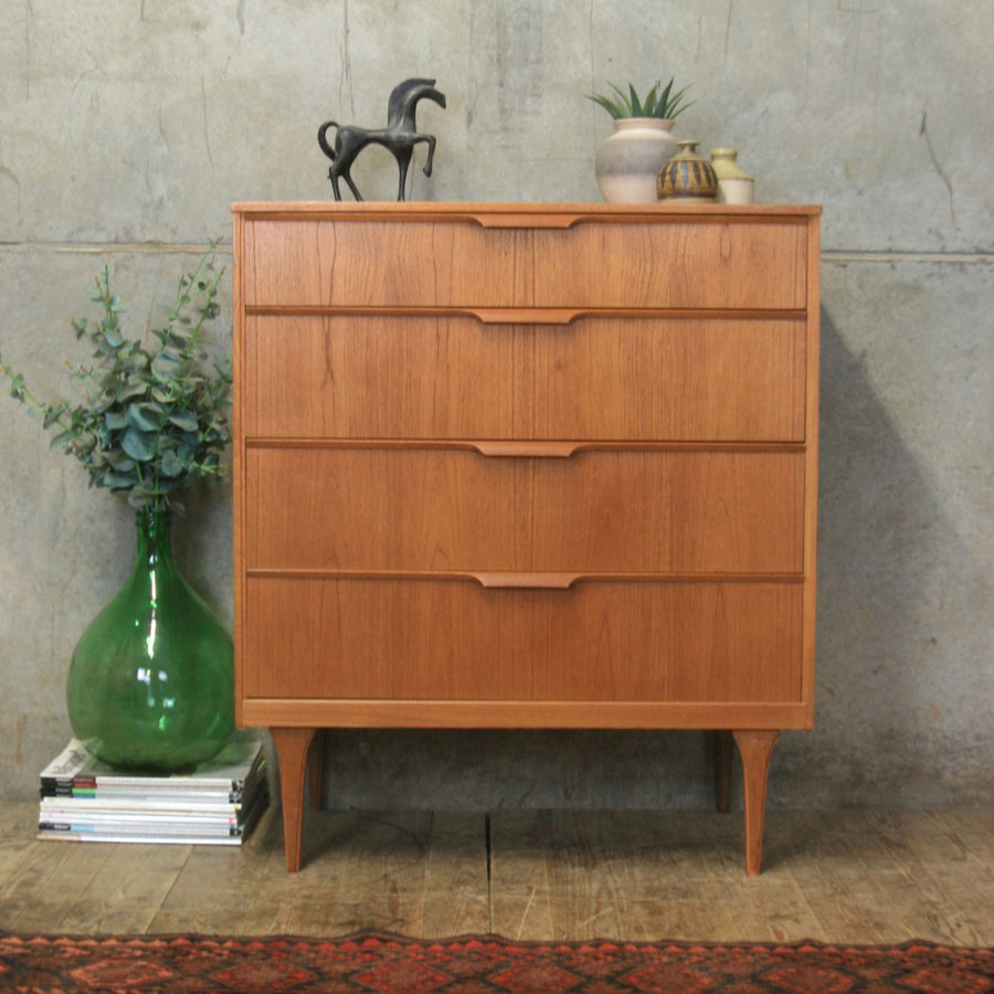 vintage_teak_austinsuite_tallboy_chest_of_drawers