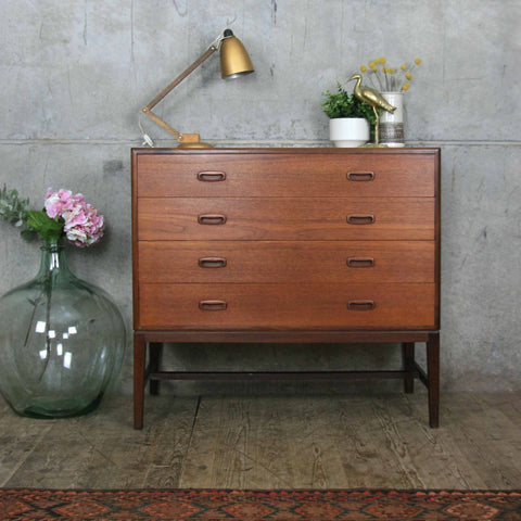 Mid Century Teak & Afromosia Chest of Drawers