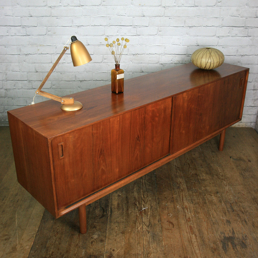 Danish Teak Sideboard / Media Cabinet