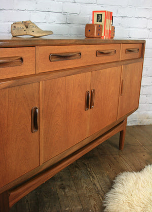 Mid Century Small G Plan Fresco Teak Sideboard