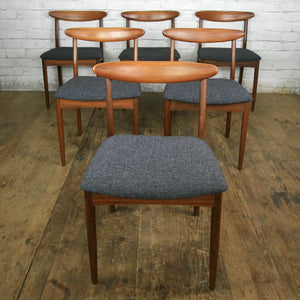 **For Jolene** Vintage Younger Fonseca Extending Dining Table & 6 x dining chairs all newly upholstered