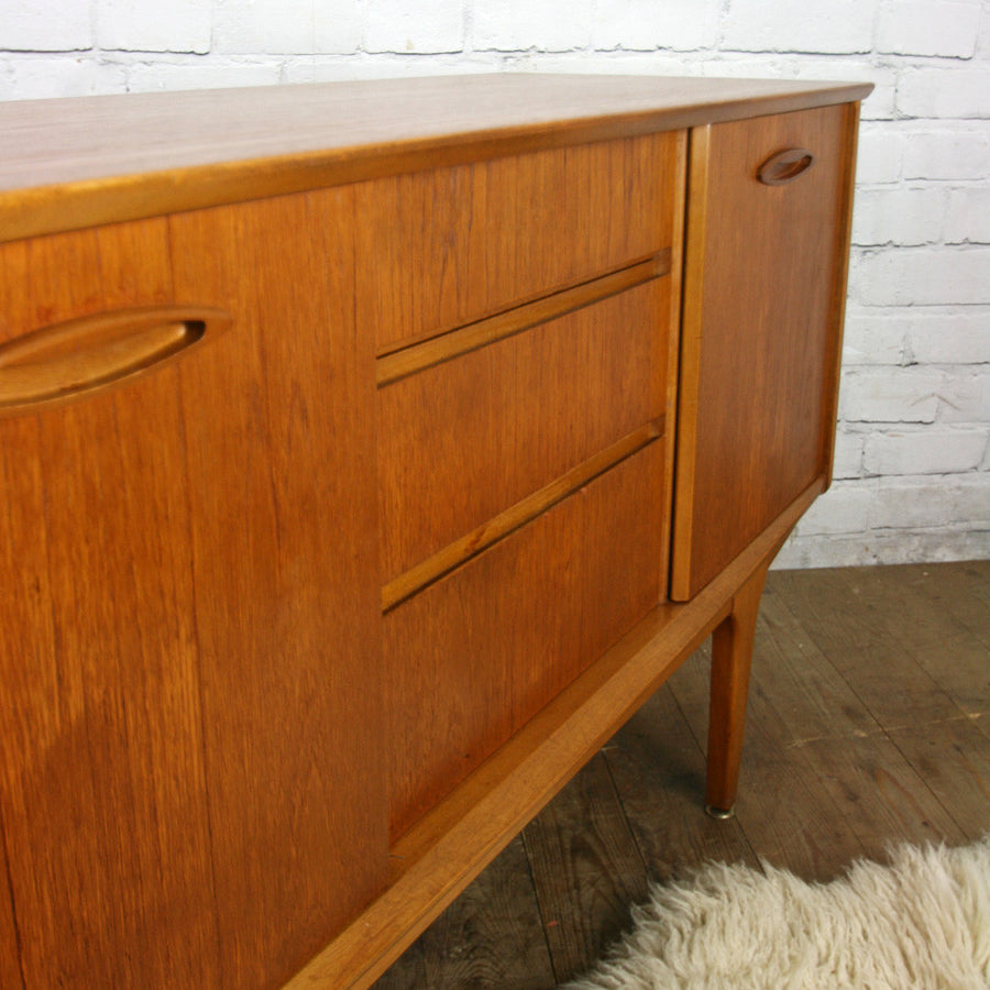 Small Jentique Mid Century Teak Sideboard/Media Cabinet