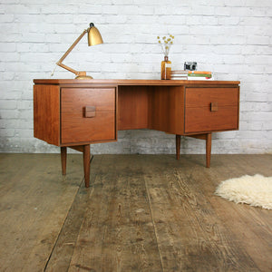 Teak Desk designed by Kofod Larsen