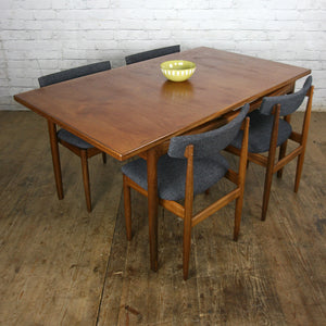 Vintage Teak Extending Dining Table by Kofod Larsen