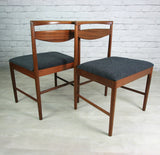 6 Vintage 1970s McIntosh Teak Dining Chairs