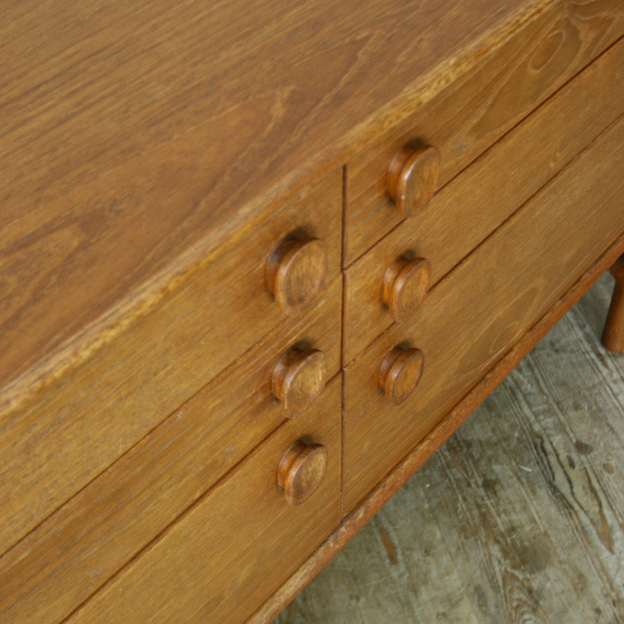 Mid Century Meredew Teak Chest of Drawers