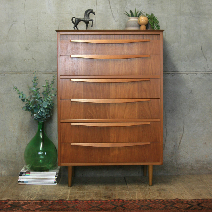 vintage_teak_mid_century_tallboy_chest_drawers