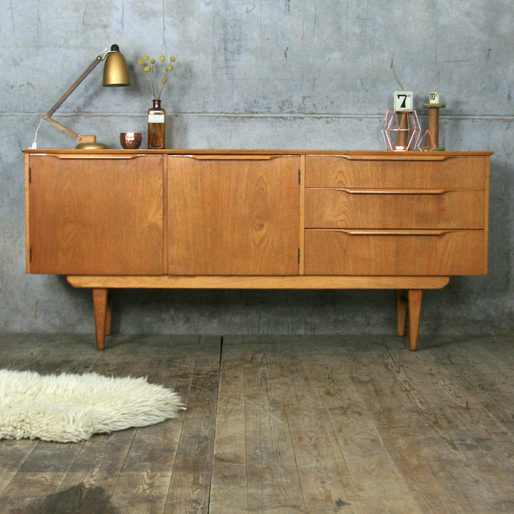 Delivery of Vintage Mid Century Small Teak Sideboard to EH6 6AT