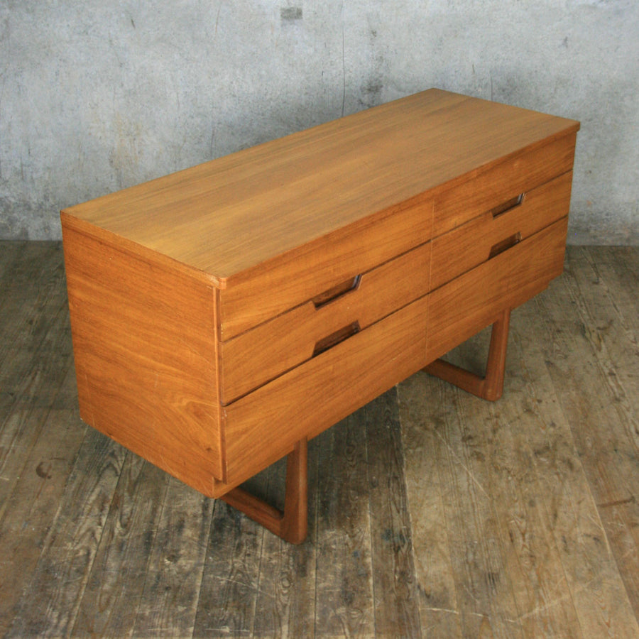 Vintage Uniflex Lowline Chest of Drawers #2
