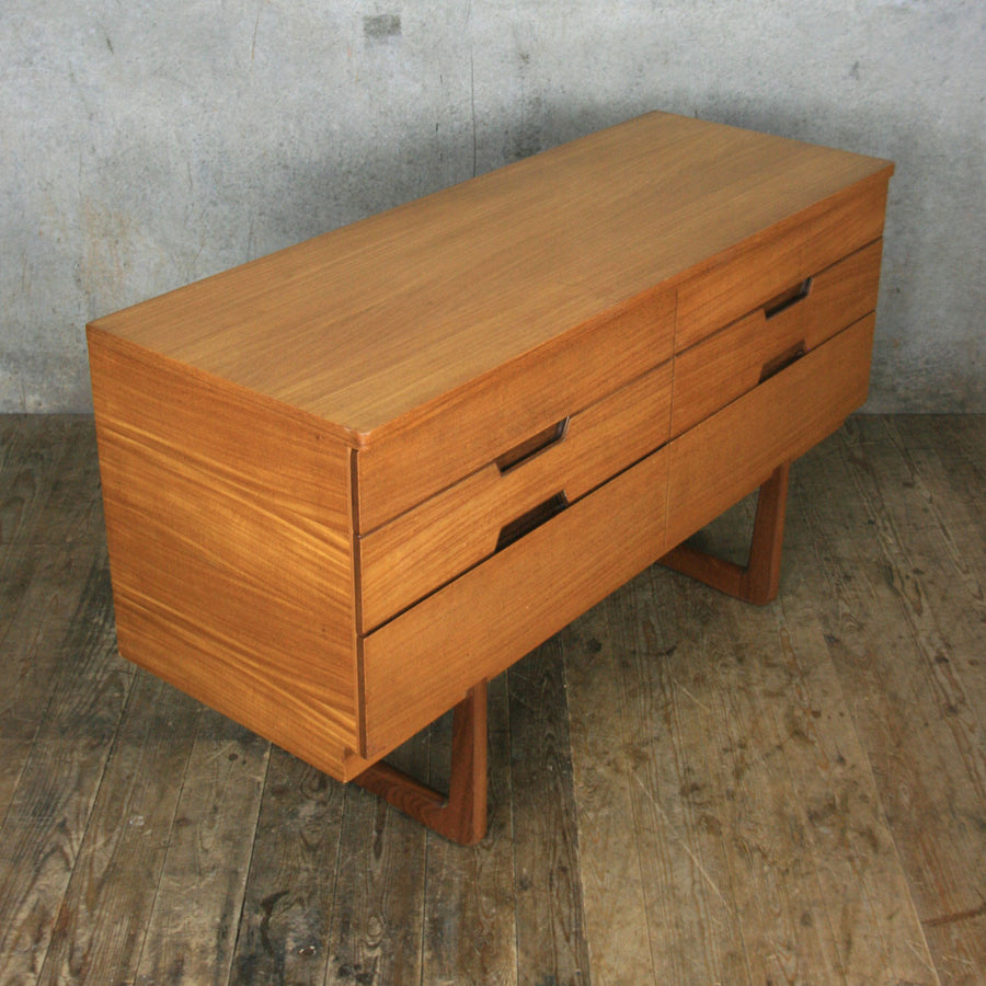 Vintage Uniflex Lowline Chest of Drawers #1