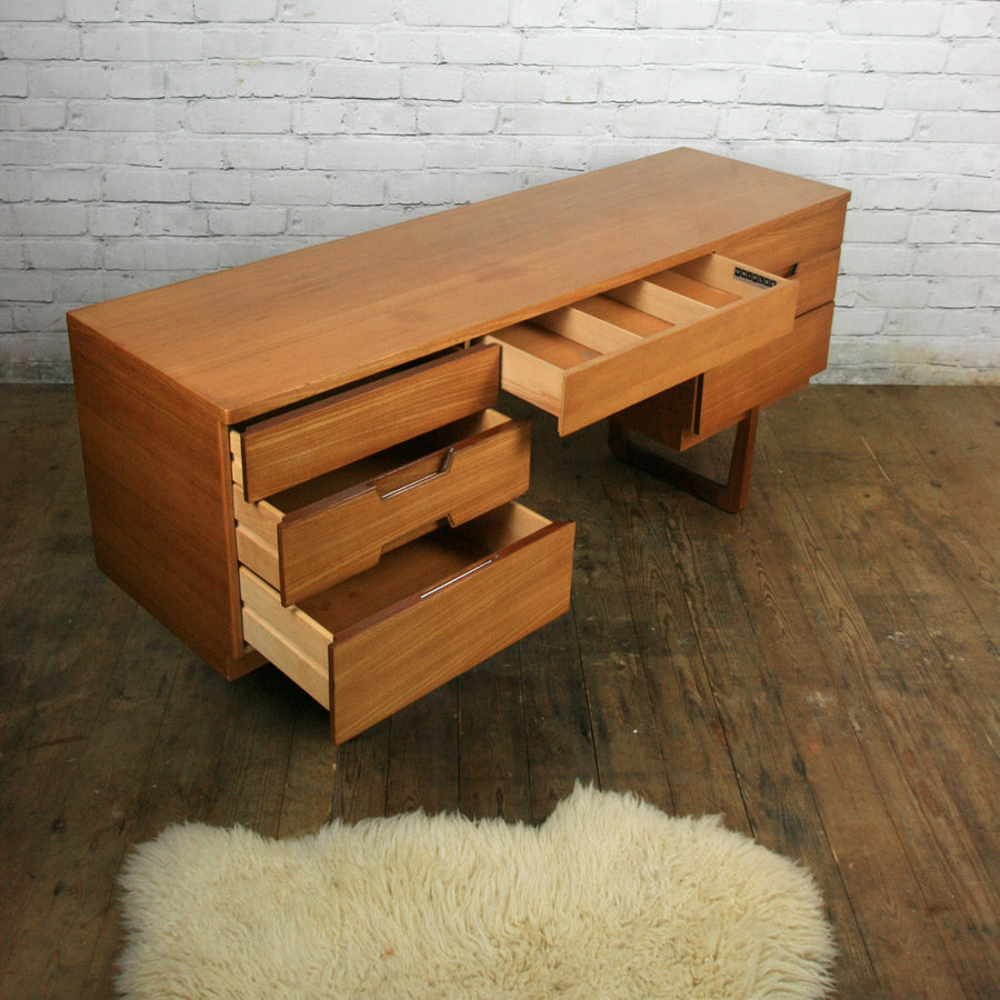 Midcentury Uniflex Desk Dressing Table