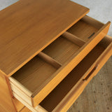 Vintage Uniflex Tallboy Chest of Drawers