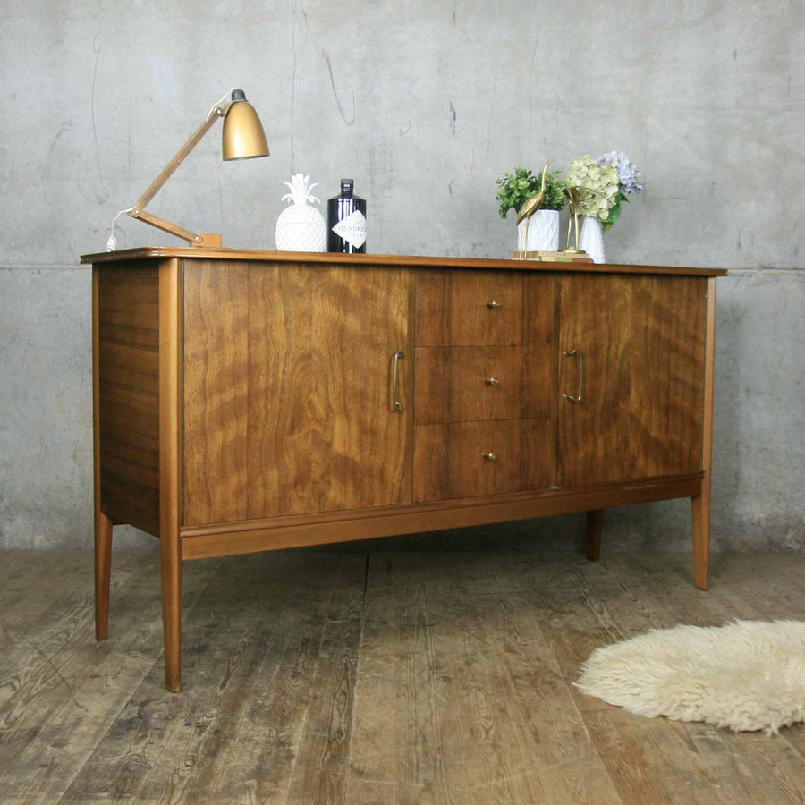 Mid Century Peter Hayward Walnut Sideboard
