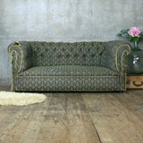 Vintage Chesterfield Sofa For Re-Upholstery