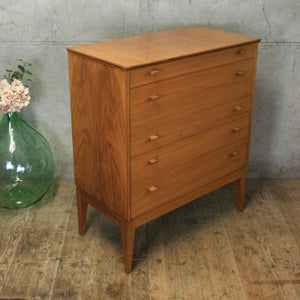 Mid Century Alfred Cox Chest of Drawers #0504g