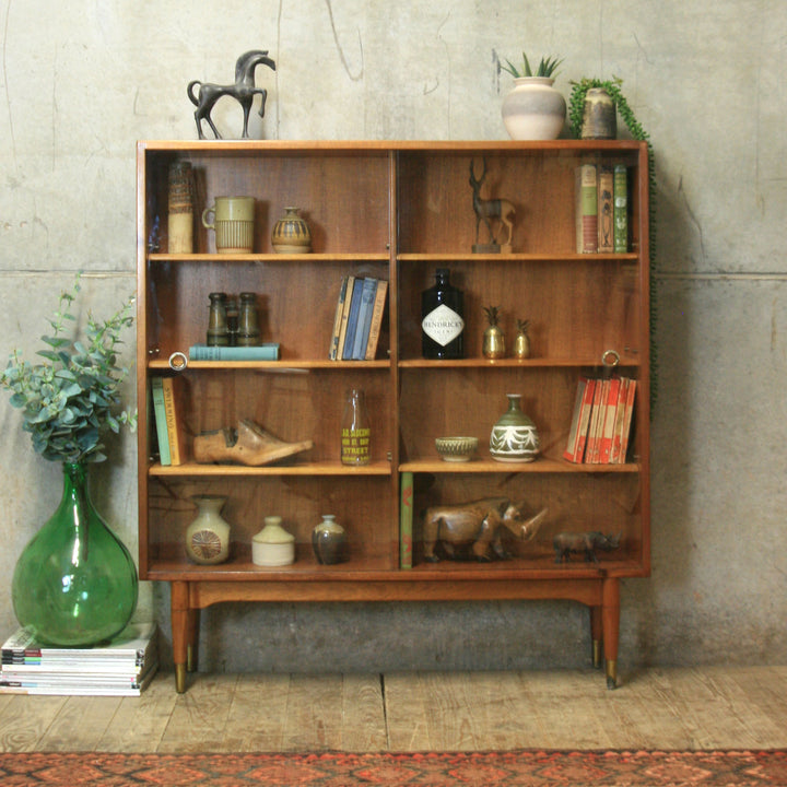 vintage_walnut_mid_century_display_cabinet_bookcase