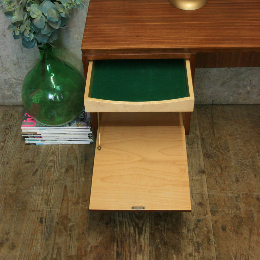 Mid Century White & Newton Dressing Table / Desk - 2101d